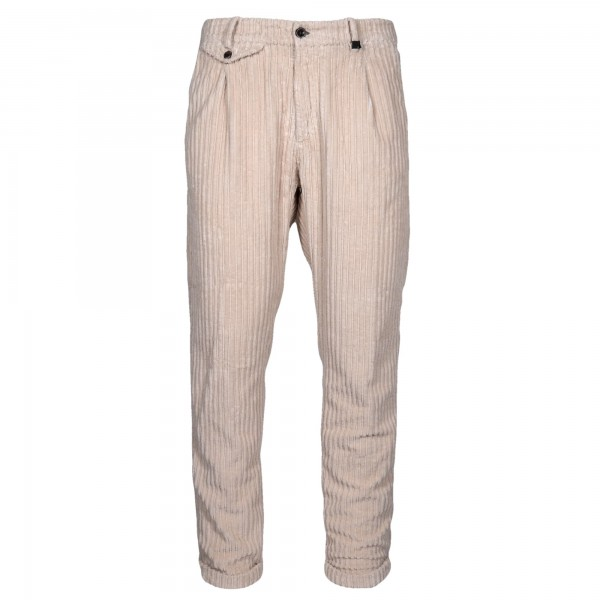 Myths Pleated Corduroy Trousers