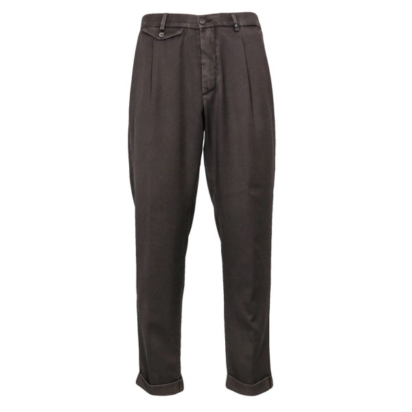 Myths Pleated Wool Trousers