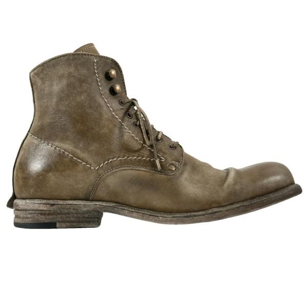 Shoto Boot Deerskin Olive