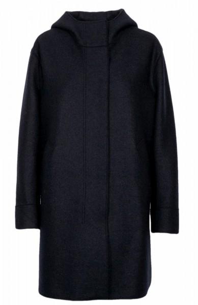 Harris Wharf coat Navy