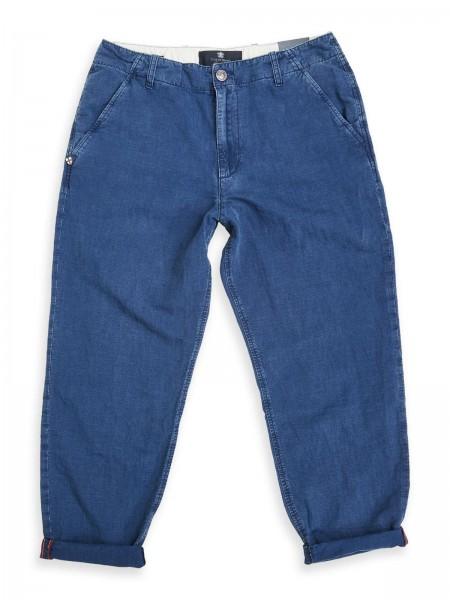 Blue de Gênes Bene Fanning Trousers