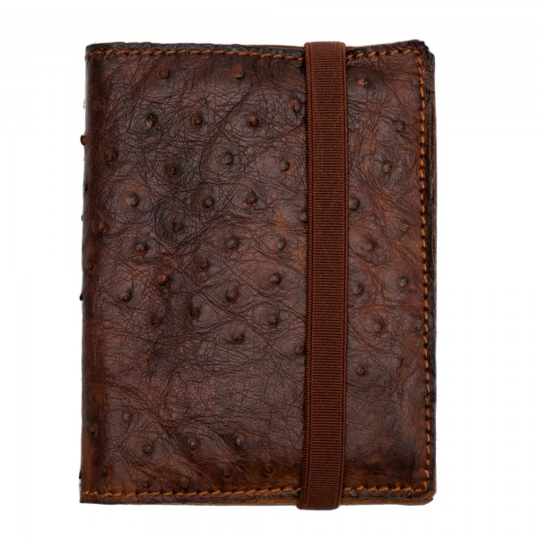 Shoto Wallet Ostrich Leather
