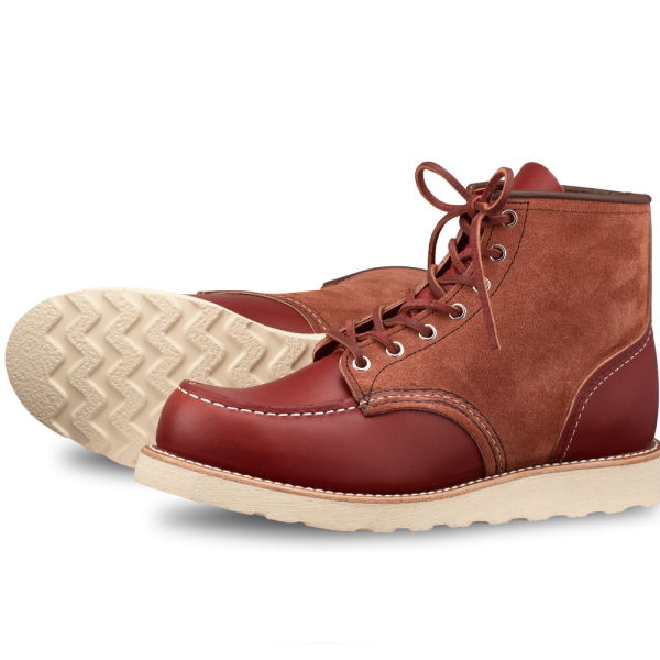 Red Wing Moc Toe 8819 Upper Tier Limited Edition