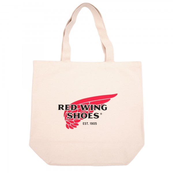Red Wing Shoes Canvas Tote Bag