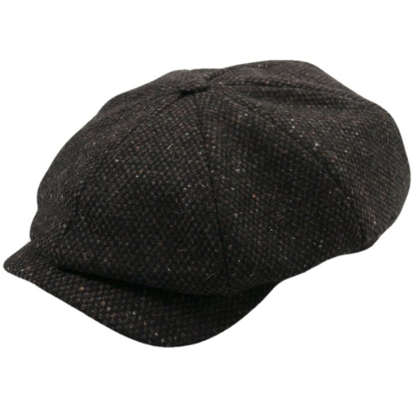 Wigens Newsboy Cap Tweed Run Edition