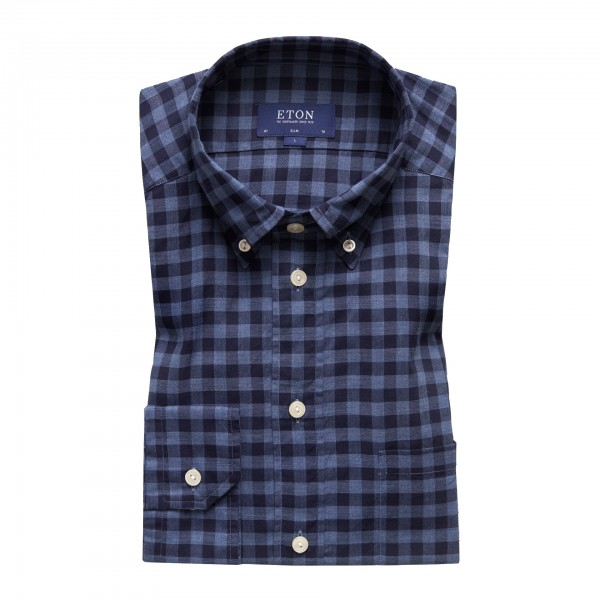 Eton checked Shirt