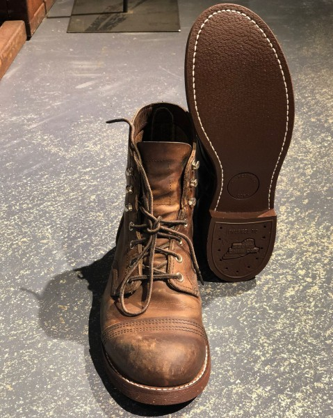 Red Wing - Neubesohlung Iron Ranger