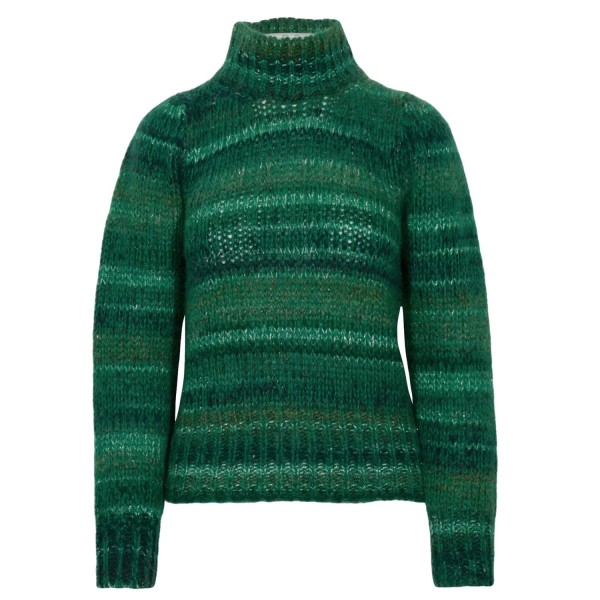 Maliparmi Knitted Sweater Metallic-Look