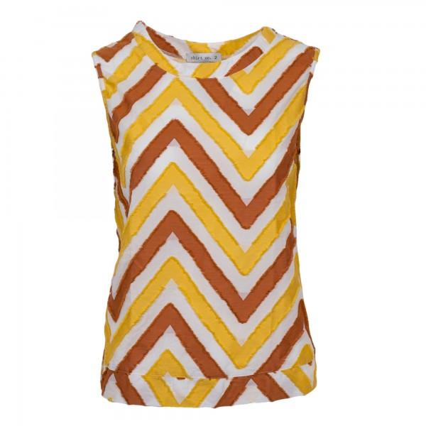 Shirt no.2 Top Gelb