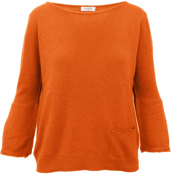 HMK Kaschmirpullover Orange