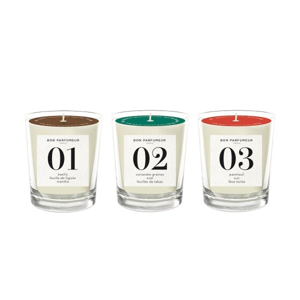 Bon Parfumeur Candleset Mini