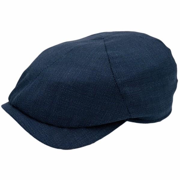 Wigens Newsboy Slim Cap Blau