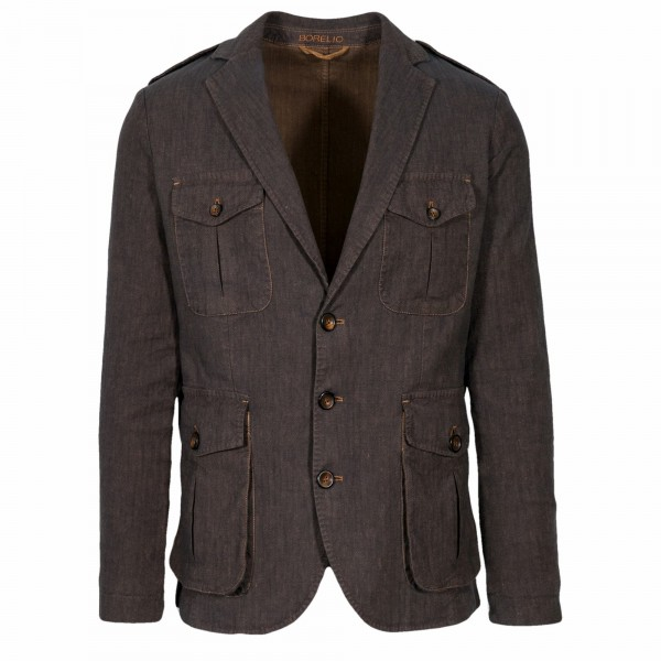 Borelio Slack Jacket Vector Fischgrat