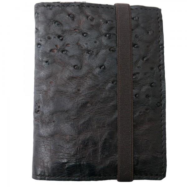 Shoto Wallet Ostrich Leather
