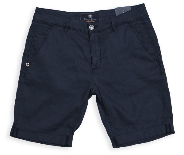 Blue de Gênes Paulo Teo Shane Shorts Navy