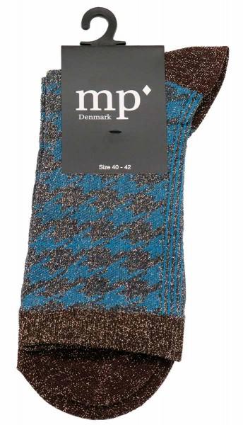 mp Denmark Socken Blau-Braun