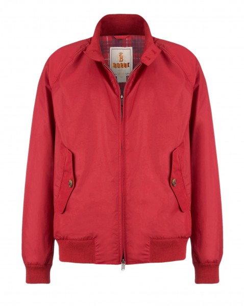Baracuta G9 Blouson Dark Red
