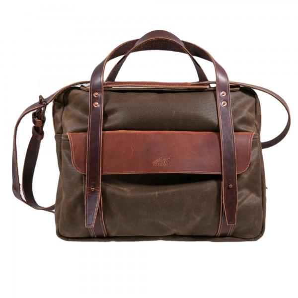 Kustom Kraft Briefcase Tan