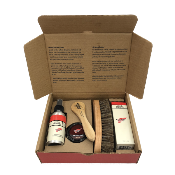 Red Wing Smooth-Finished Leather Care Kit