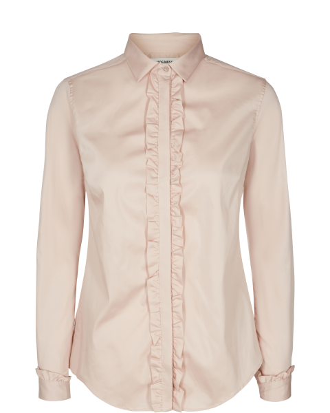 Mos Mosh Bluse Tilda Flounce Light-Rose