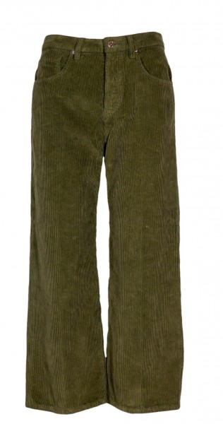 true nyc corduroy pants Zaira olive