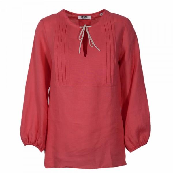 Shirt No.2 Leinen Tunika Rot