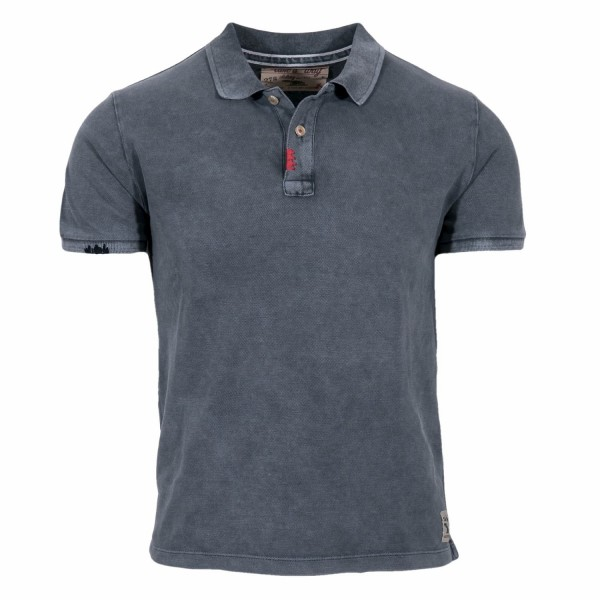 Take a Way Polo Shirt Denim