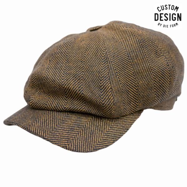 Wigens Newsboy Classic Cap Gold