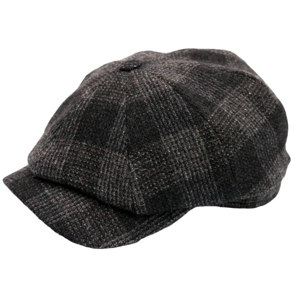 Wigens Newsboy Classic Cap Checked