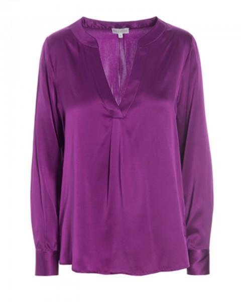 Dea Kudibal silk blouse Santena Grape