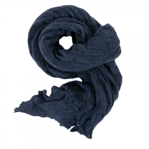 Phil Petter cashmere scarf navy