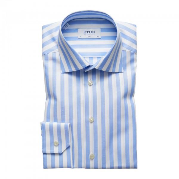 Eton striped Cotton Shirt