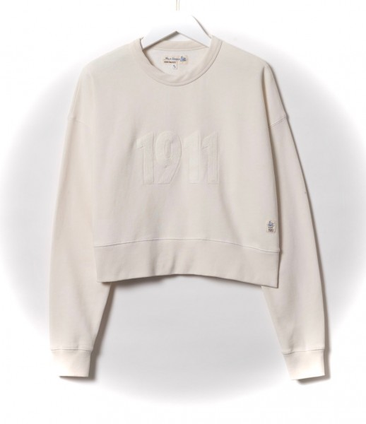 Merz b. Schwanen Cropped Sweatshirt