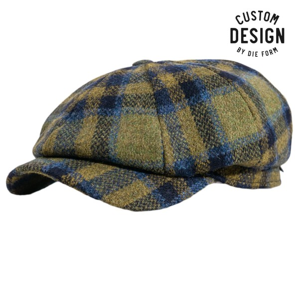 Wigens Newsboy Classic Cap Checked