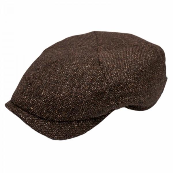 Wigens Newsboy Slim Cap Brown